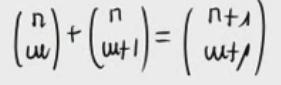 Propiedad de números combinatorios (Tartaglia) Parte 2