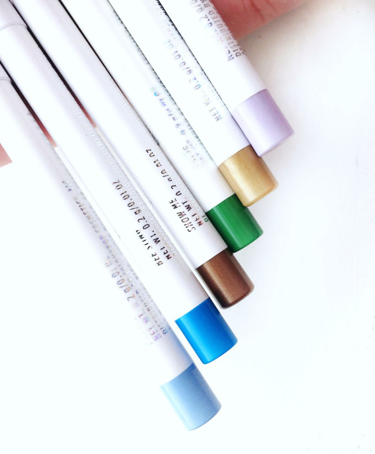 Review of Colourpop Creme Gel Liners, colours, shades