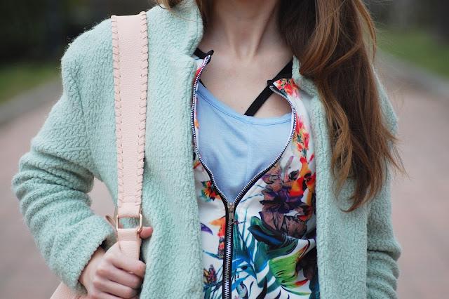 Pastelowa stylizacja | flower power
