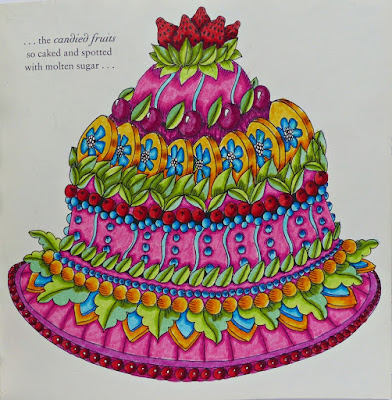 Escape to Christmas past coloring book