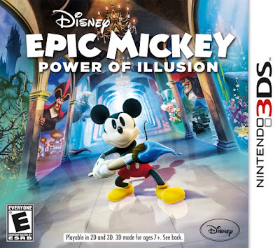 Disney Epic Mickey The Power of Illusion Decrypted 3DS USA
