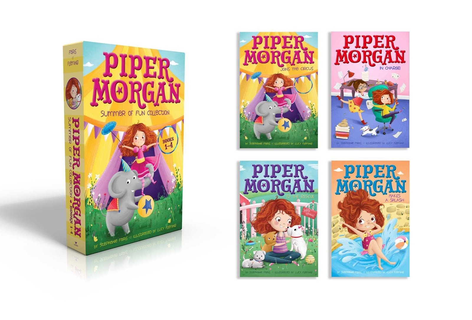 Piper Morgan Summer of Fun (Books 1-4)