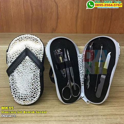 Manicure Set Bentuk Sandal
