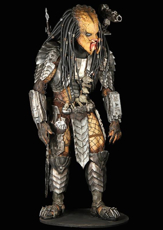 Scar Predator creature costume AVP Alien vs Predator