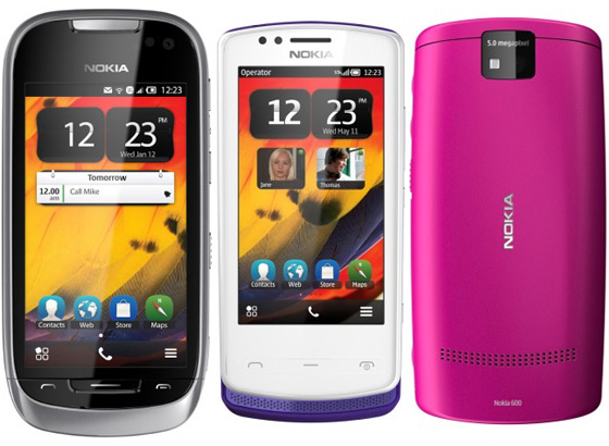 Nokia 600, 700, 701 Symbian Belle Smartphones to take on Android