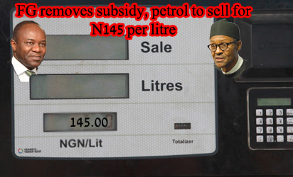 Nigerians are protesting against the fuel subsidy removal and 145 naira per litre for fuel