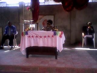 La chef spirituelle de l'EES à kinshasa