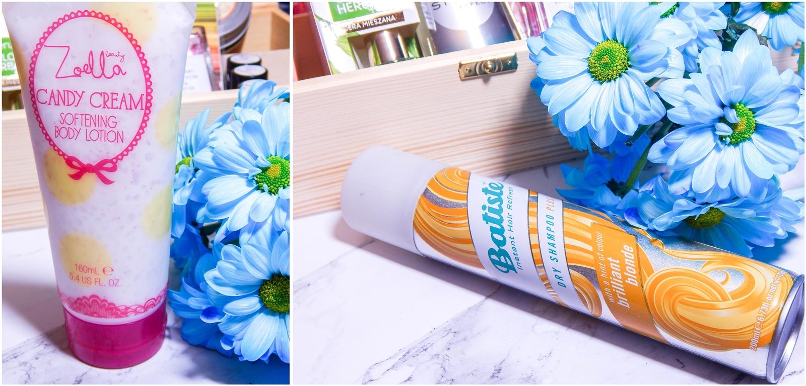 4 zoella body lotion polska batiste dla blondynek szampon suchy jakosc opinie