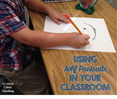 Self Portraits: A Fun and Easy Way to Incorporate Art in Your Classroom