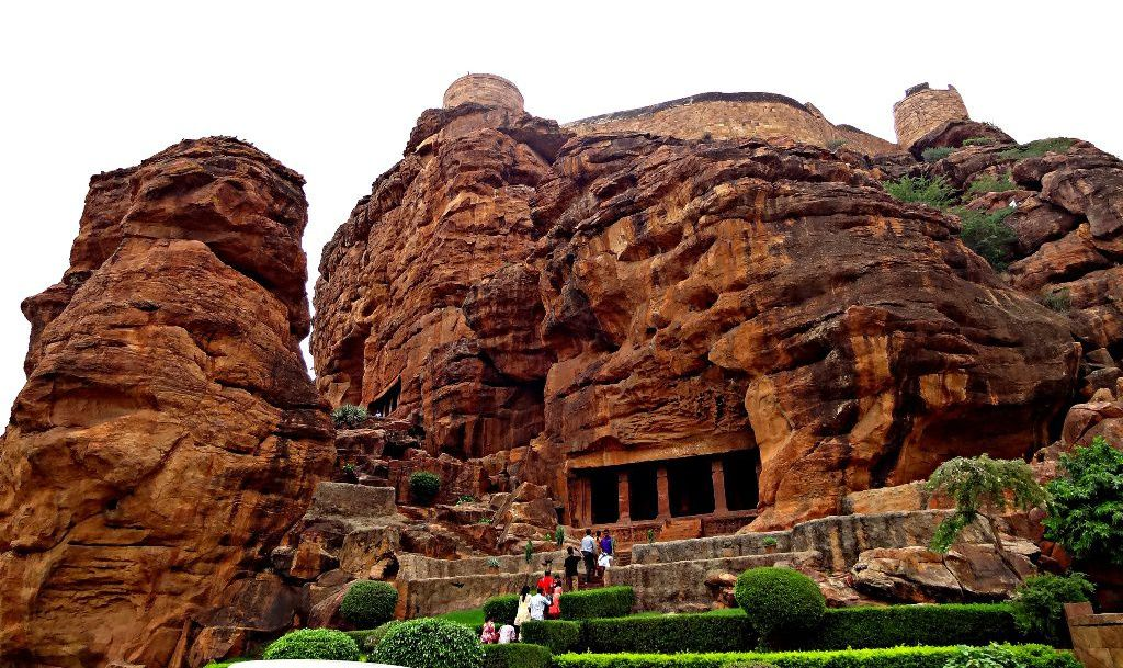 Badami cave temples - Indian sculptures -Pick Pack Go