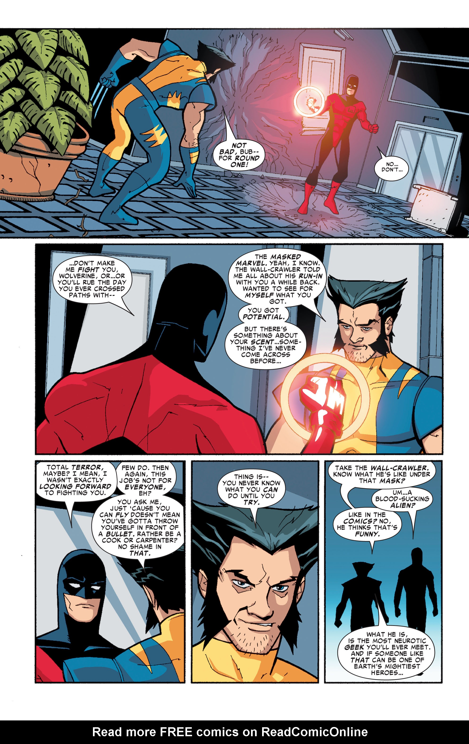Read online Ultimate X-Men comic -  Issue #72 - 29