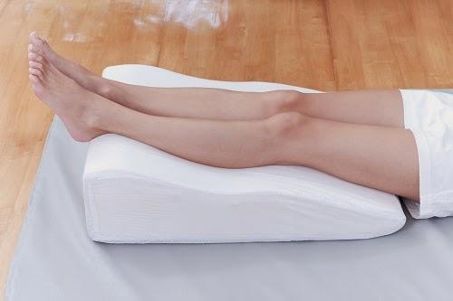 Dormir con los pies más altos mejora la circulación
