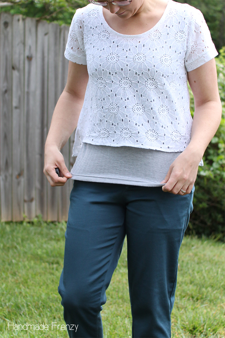 Greenwood Tank & Cropped Scout Tee // Sewing For Women