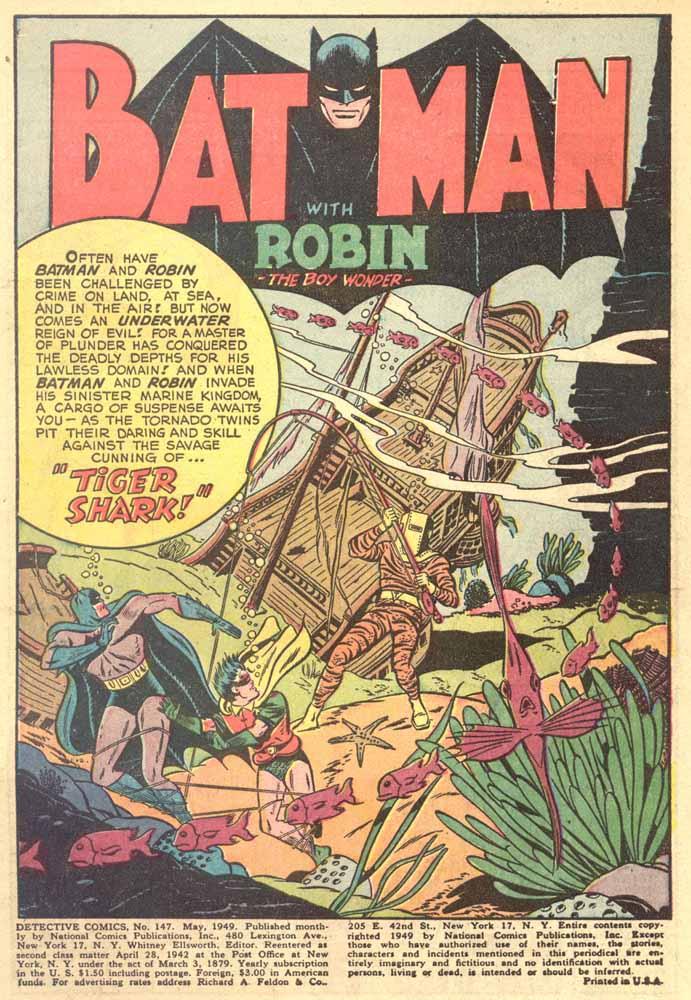 Read online Detective Comics (1937) comic -  Issue #147 - 3