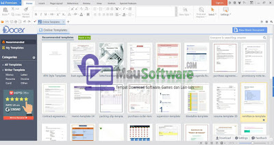 download software office yang ringan, wps office memudahkan membuat dokumen