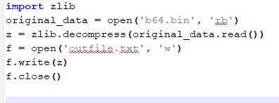 Código ZLIB imagen