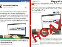 "PARAH! Soal ""Chat"" WhatsApp Rizieq-Firza, Nara Sumber Sebut KOMPAS Bohong"