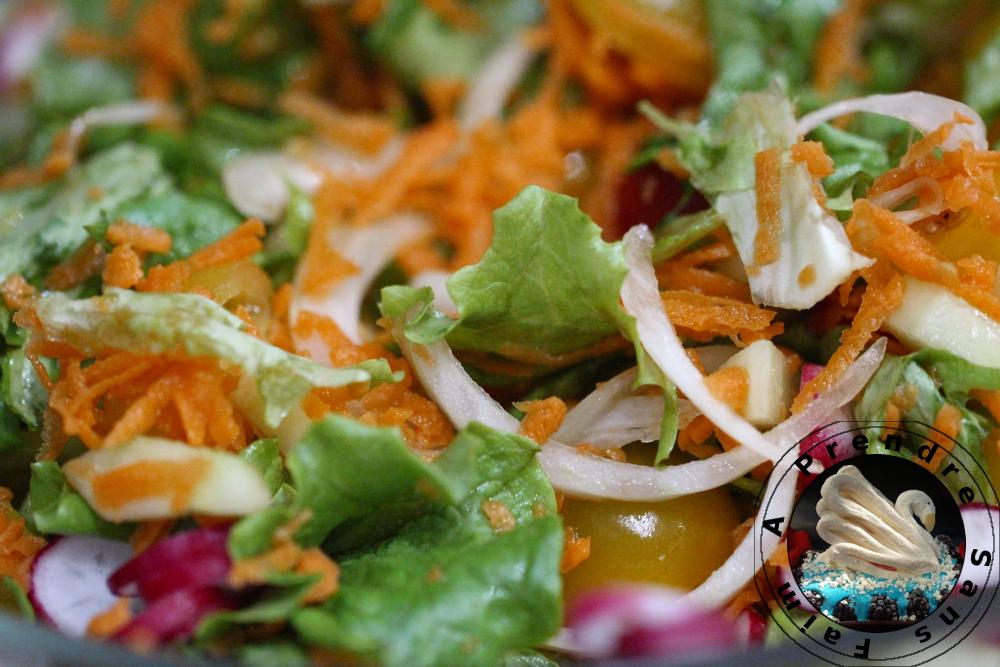Salade fraîche d'été