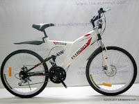 1 Sepeda Gunung EVERGREEN RANGER 18 Speed 26 Inci
