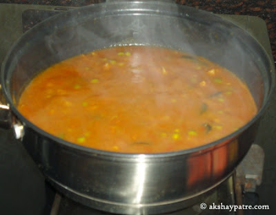 pav bhaji mixed