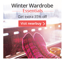 Winter Essentials: Upto 70% off + Extra 35% Off on Clothing, Footwear & Appliances @ Nearbuy