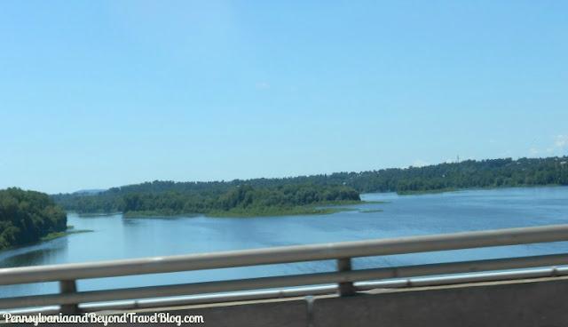 The Susquehanna River in Harrisburg Pennsylvania
