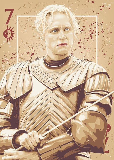 brienne de tarth - Game Of Thrones