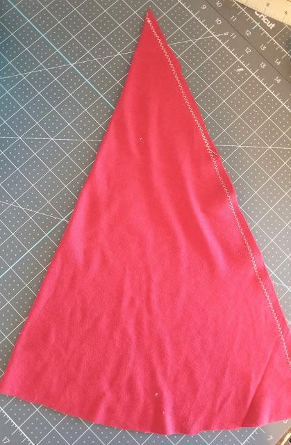 santa hat sewing pattern free