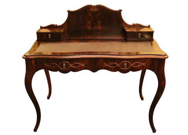 XIX wieczne biurko