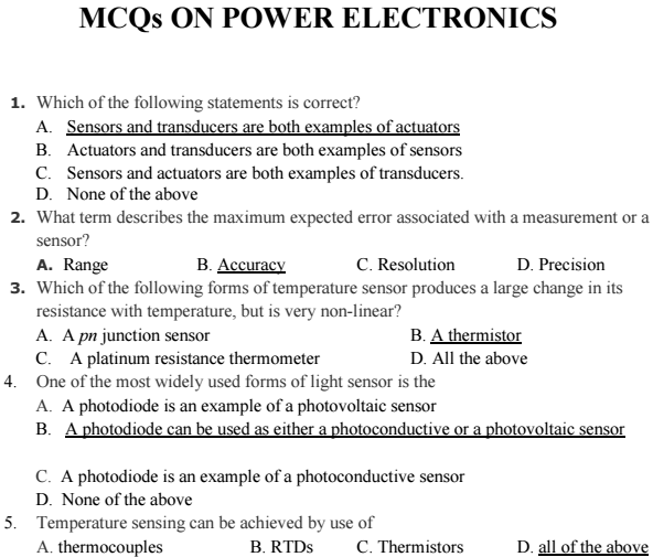 C Language Multiple Choice Questions And Answers Pdf
