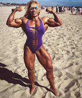 The most muscular women in the world