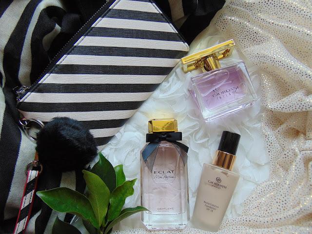 Oriflame moje ostatnie zamówienie - Część II Perfumy Eclat Mon i Miss Giordani