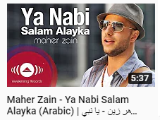 Lirik Teks Sholawat Qosidah Ya Nabi Salam Alayka يا نبي