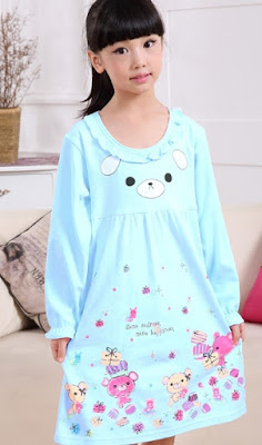 Baju tidur anak berkarakter