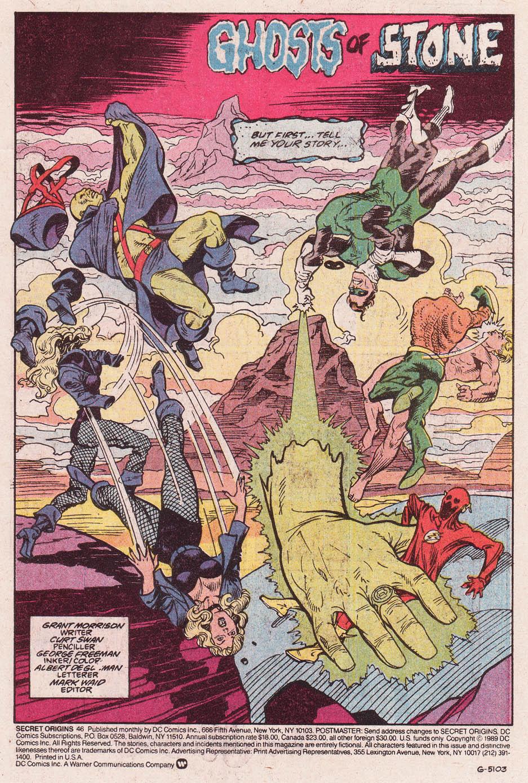 Read online Secret Origins (1986) comic -  Issue #46 - 2