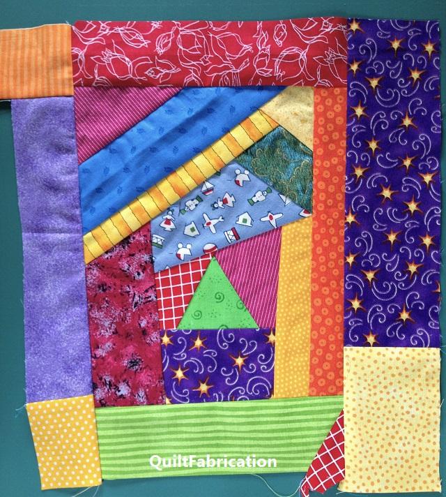 scrap slab quilt block