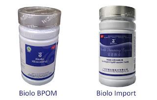 Wsc Biolo Terdaftar Di BPOM