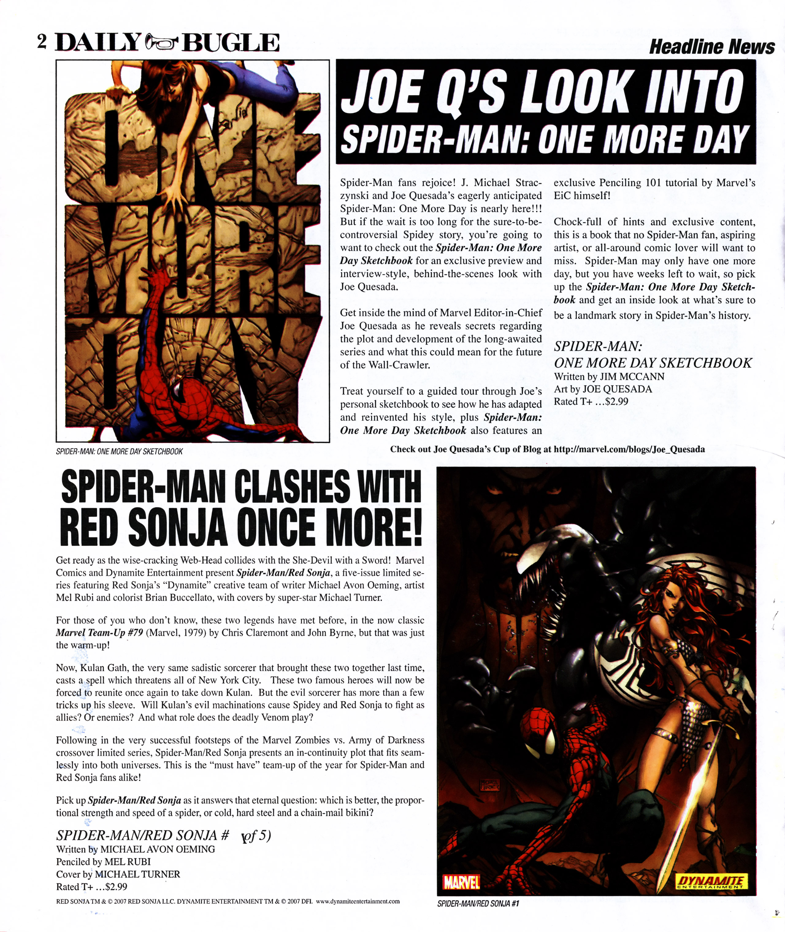 Read online Daily Bugle (2006) comic -  Issue #11 - 3