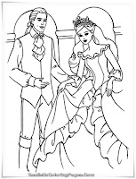 Barbie And The Magical Pegasus Coloring Sheet