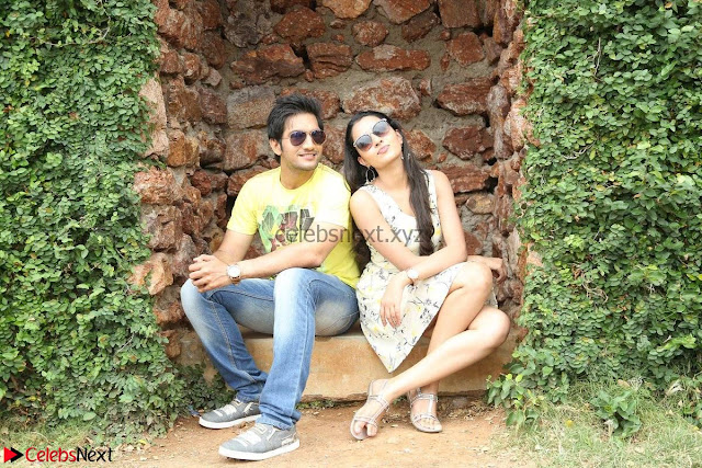 Rukshar Mir romancing Ashish Raj in Aakatayi 05.jpg
