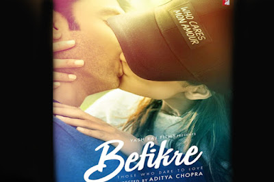 Ranveer Singh and Vaani Kapoor reportedly kiss 23 times in Befikre, which would be a new Bollywood record for the most kisses.   Befikre poster, which recently released shows Ranveer and Vaani in a passionate lip lock.  The film,  a comeback vehicle for Aditya Chopra is said to be inspired by Bernardo Bertolucci's Last Tango in Paris.