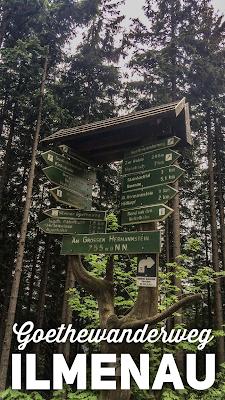 Wandern Ilmenau  Rund um den Kickelhahn  Wanderung zum Goethehäuschen  Tourenbericht + GPS-Track  Outdoor-Blog + Tourenportal 20