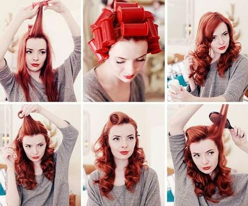How to make a vintage hairstyle