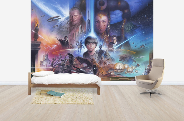 Tähtien Sota Tapetti Star Wars Anakin Skywalker Padme Amidala