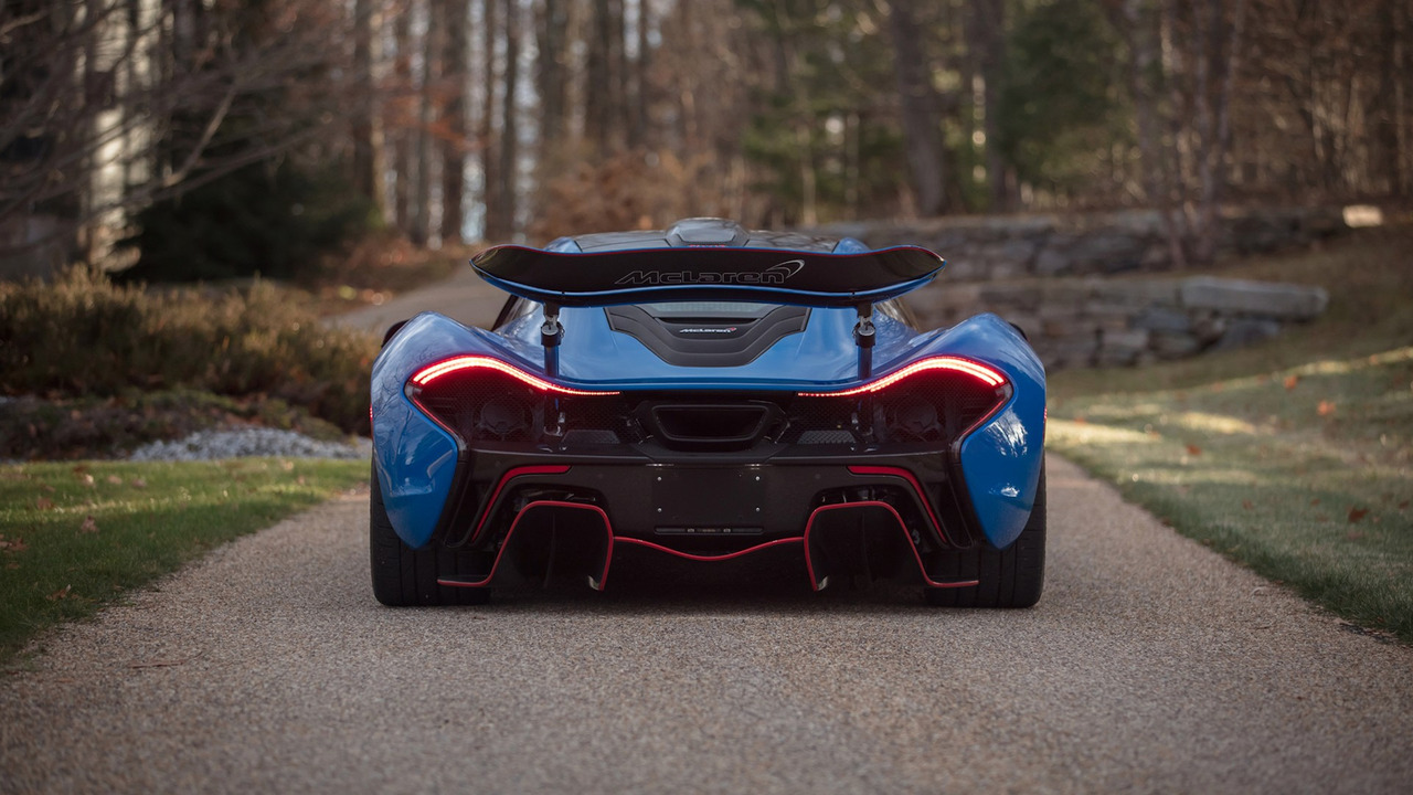This Blue Mclaren P1 Is The Most Expensive Ever Carscoops