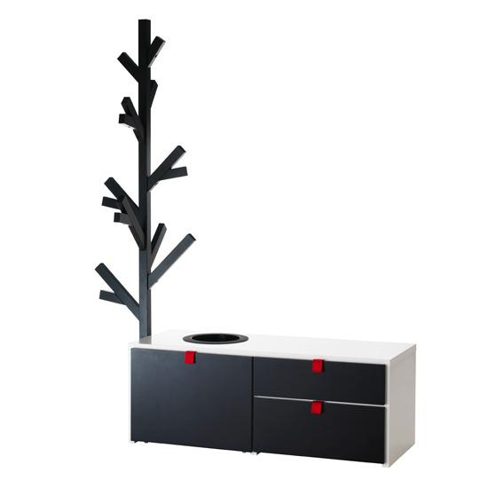 IKEA ODDA Storage Unit with coat stand | eBay