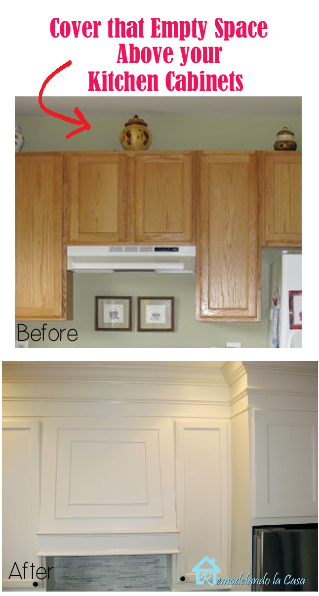 DIY - kitchen makeover - transform those builder grade cabinets