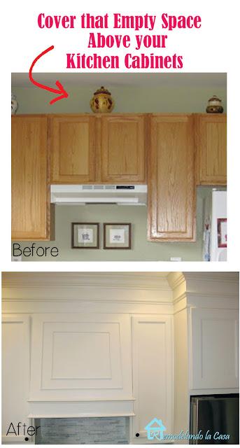 DIY - kitchen makeover - transform those builder grade cabinets