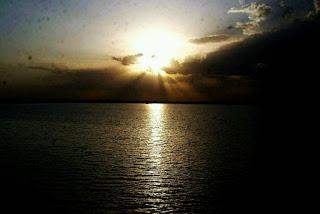 Paleru Reservoir view khammam