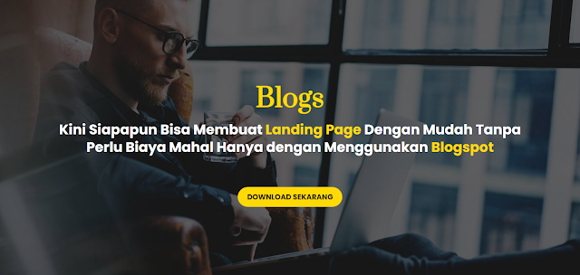 Jasa Pembuatan Landing Page Blogspot